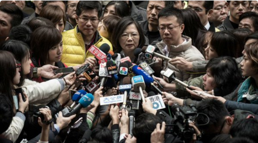 Taïwan : victoire écrasante de Tsai Ing-wen, nouvelle présidente
