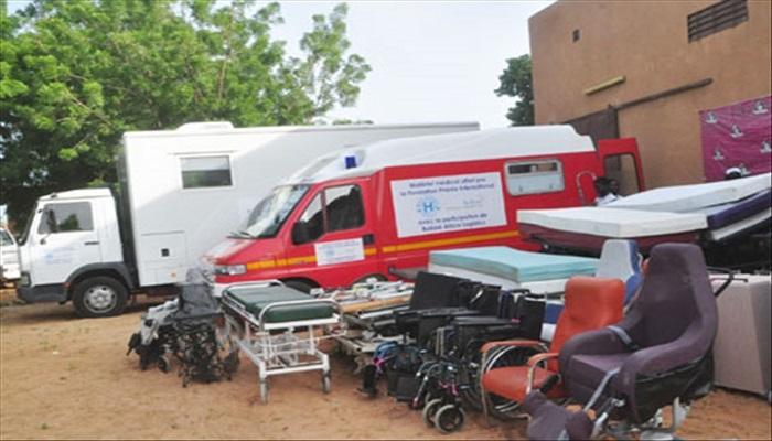FATICK : La mairie réceptionne du matériel médical d'une valeur de 2 milliards