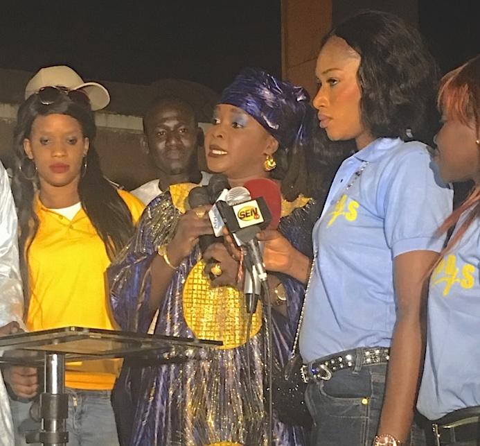 L'honorable député Fatou Thiam répond aux accusations de l'honorable député Aïda M'bodj.
