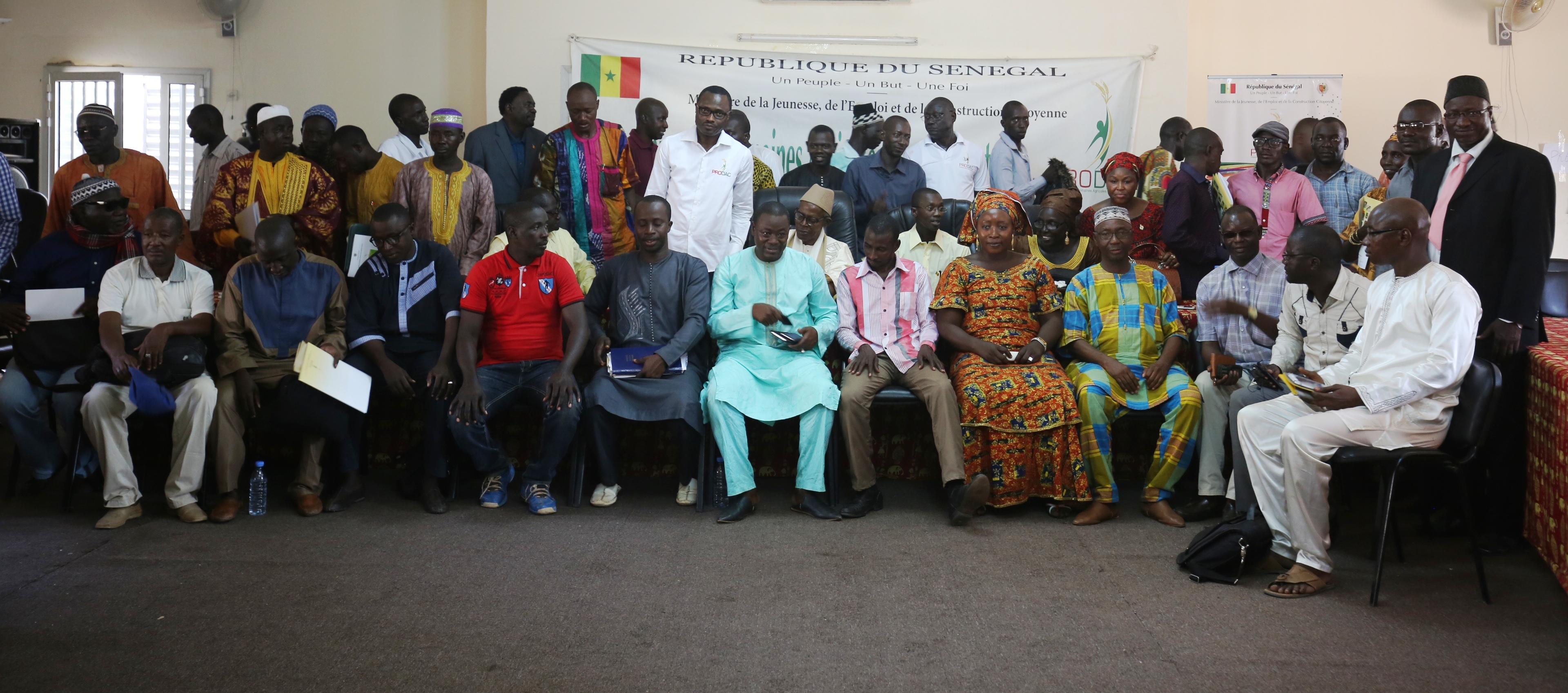 Déclaration des élus de la région de Sédhiou suite à la tenue de l'atelier de partage sur le domaine agricole communautaire de Séfa