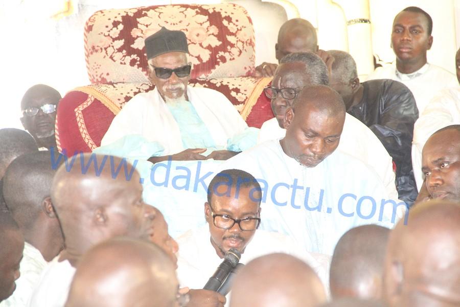 CARICATURE DE SERIGNE TOUBA PAR JEUNE AFRIQUE : Cheikh Bass Abdou Khadre délivre le message du Khalife