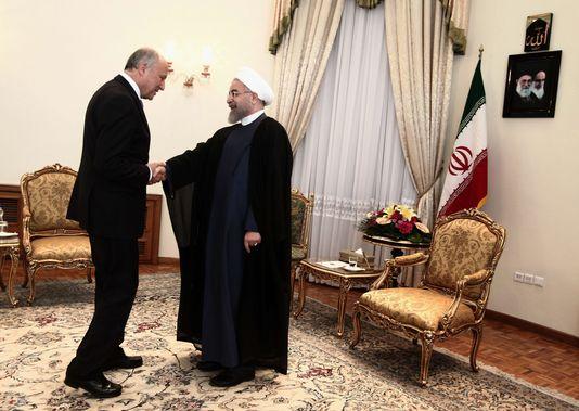 """Hassan Rohani : """"C'est à Riyad de faire le premier pas"""" pour rétablir les relations avec l'Iran"""