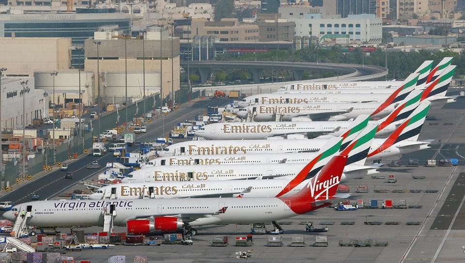 L'aéroport de Dubaï est le plus fréquenté au monde