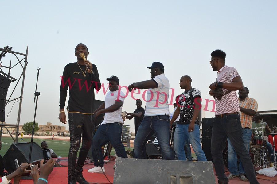 FINALE COUPE DU MAIRE : Les images du show de Wally Ballago Seck, de Kouthia et de Balla Gaye II, au stade Alboury N'diaye de Louga