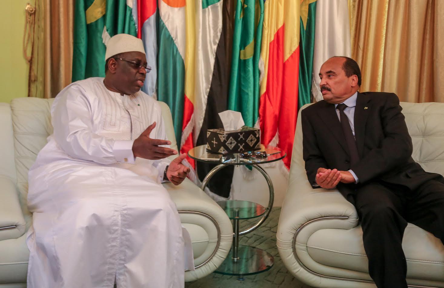 Le président de la République Macky Sall se rend demain en Mauritanie