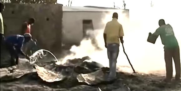 Koumpentoum : Le Daara de l'actuel khalife de Darou Mousty ravagé par un incendie