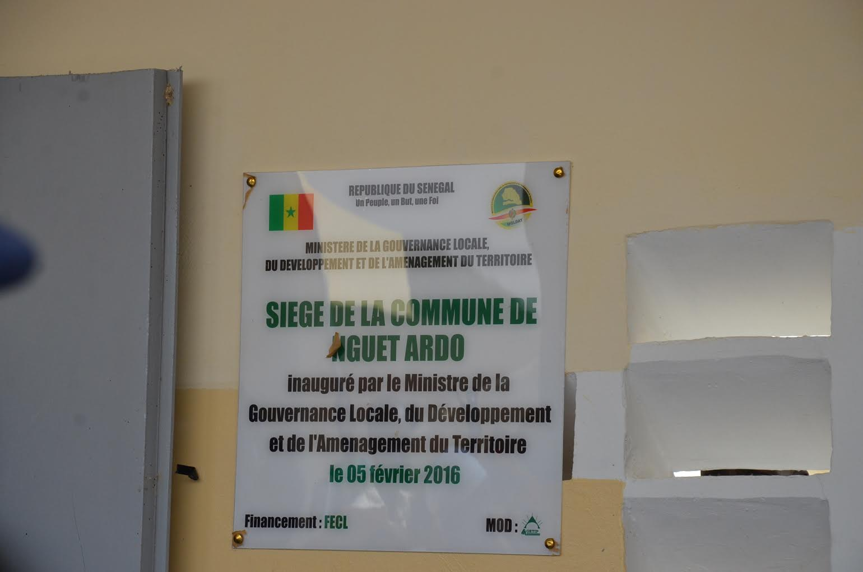 La commune de Gueth-Ndar se dote d'un siège pour son hôtel de ville