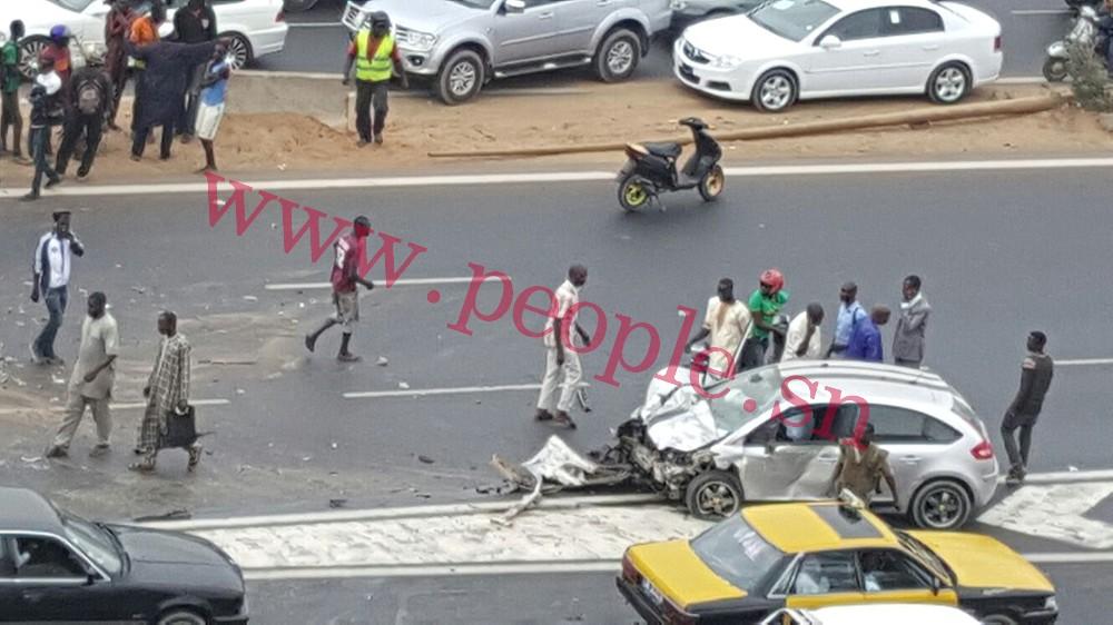 Grave accident sur l'autoroute à hauteur des Maristes : Deux sœurs meurent sur le coup plusieurs blessés graves (IMAGES)