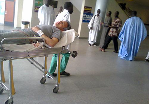 Etat de santé de Bibo Bourgi : Les organisations des droits de l'Homme appellent l'Etat à lui accorder une autorisation de sortie du territoire