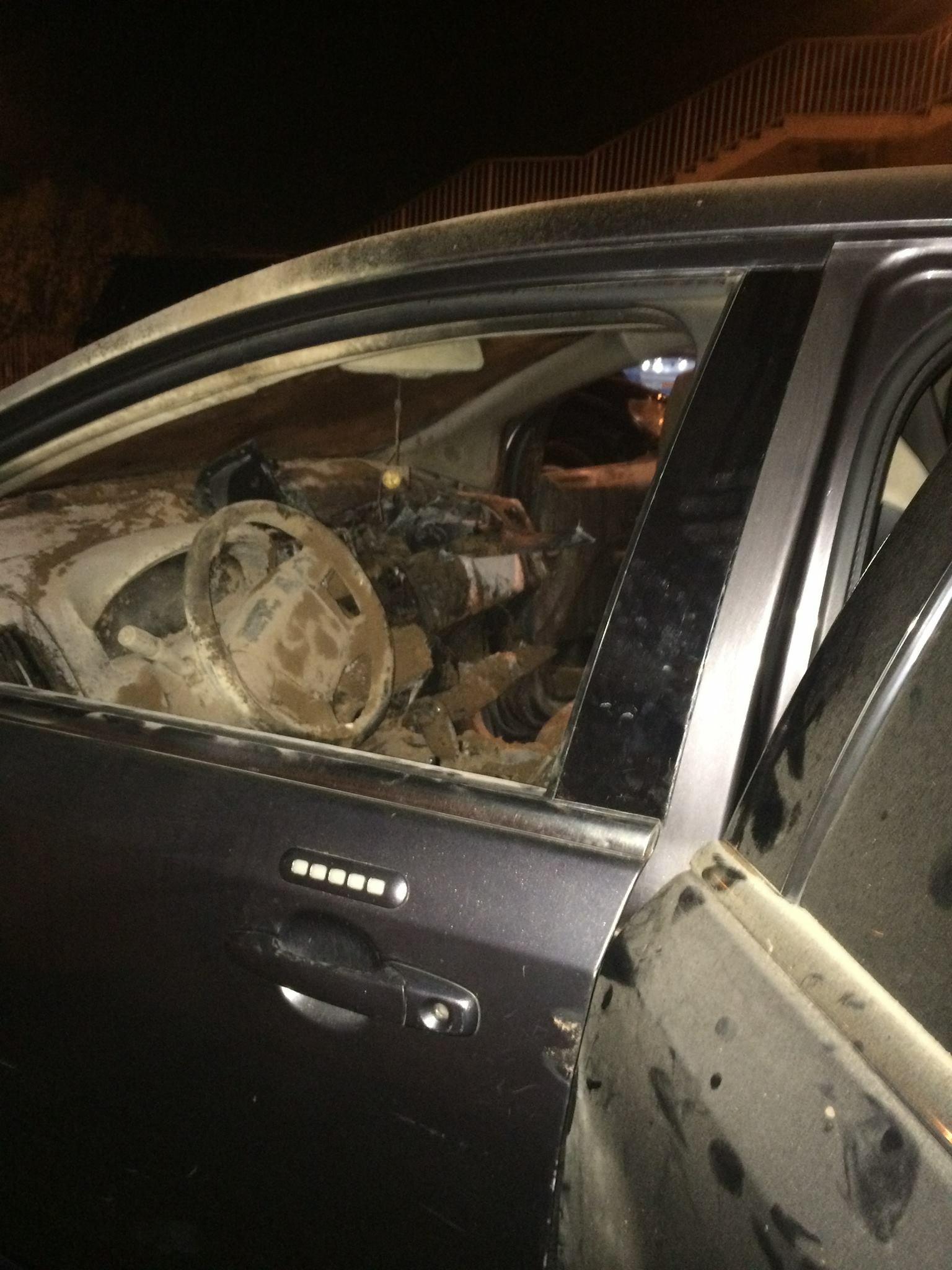 Réunion PDS : La voiture de Bachir Diawara calcinée