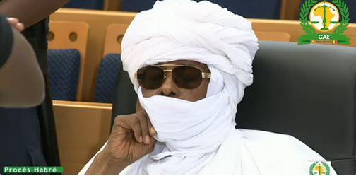 """Le Tchadien Hissène Habré présenté comme un """"patriote"""" innocent"""
