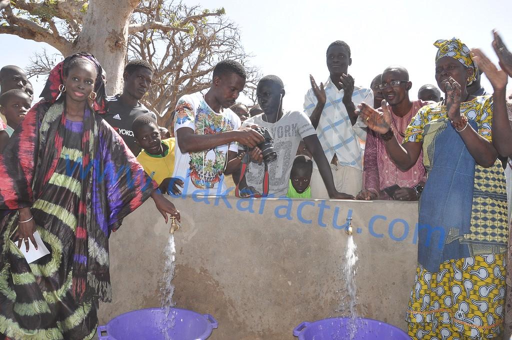 Adduction en eau potable : Thérèse Faye soulage les populations de la Commune de Diarrère  ( IMAGES )