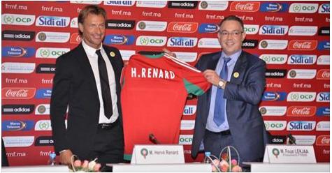 Officiel : Hervé Renard nommé sélectionneur du Maroc