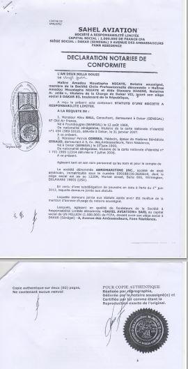 Sahel Aviation-Petro Tim : L'ouverture d'une information judiciaire demandée sur les relations entre les deux sociétés