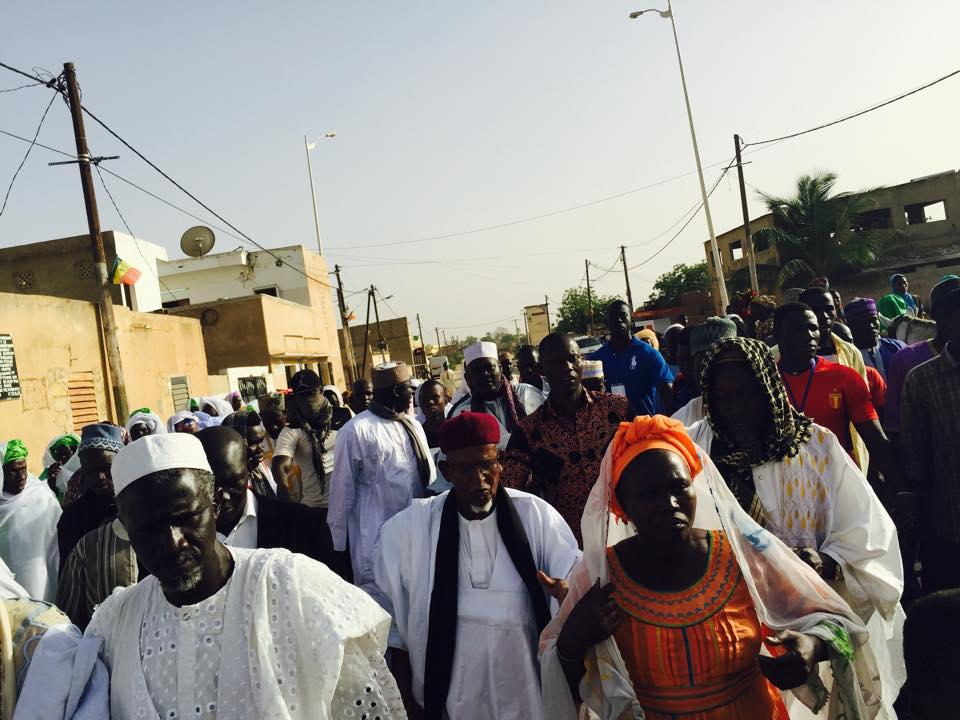 FATICK : Les images de la tournée de Serigne Abdoulaye Mountakha Niasse pour la réélection du président Macky Sall