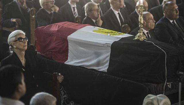 Obsèques de Boutros Boutros-Ghali en Egypte
