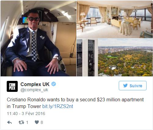 Ronaldo, un million d'euros pour une pub en arabe