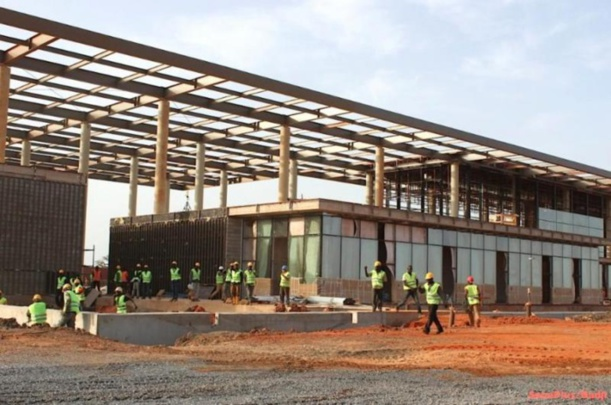 Pôle industriel de Diamniadio : 12 blessés dont 1 grave dans l'affaissement d'un échafaud