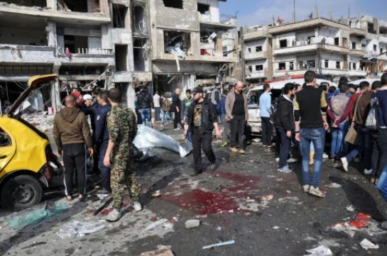 SYRIE : Plus de 45 morts dans un attentat à Homs, John Kerry en Jordanie