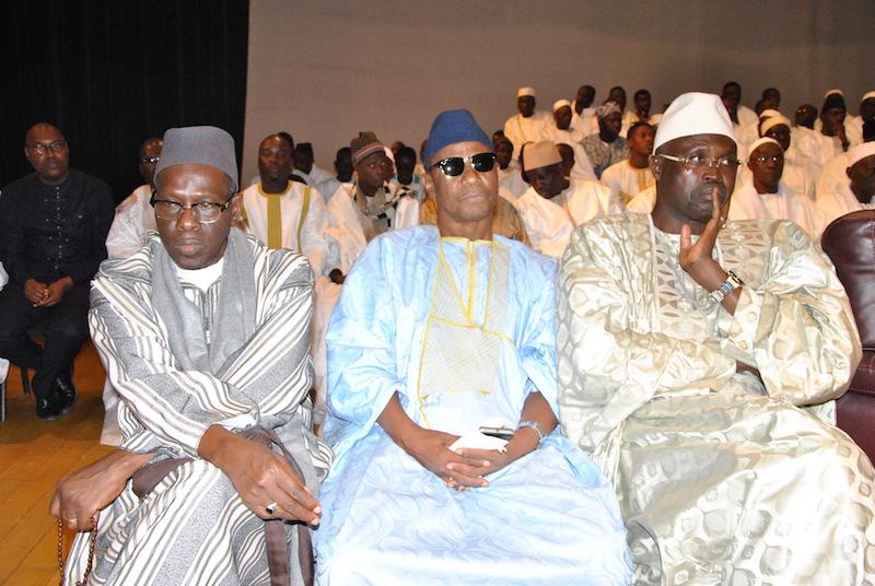 Les images de la conférence religieuse du Daara Seydina Limamou Lahi (PS) de la cellule de Dakar, le dimanche 7 février 2016 au Grand Théâtre