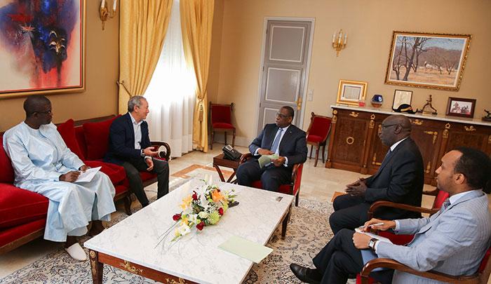 LOGEMENT : Un promoteur immobilier égyptien présente à Macky Sall ses projets au Sénégal