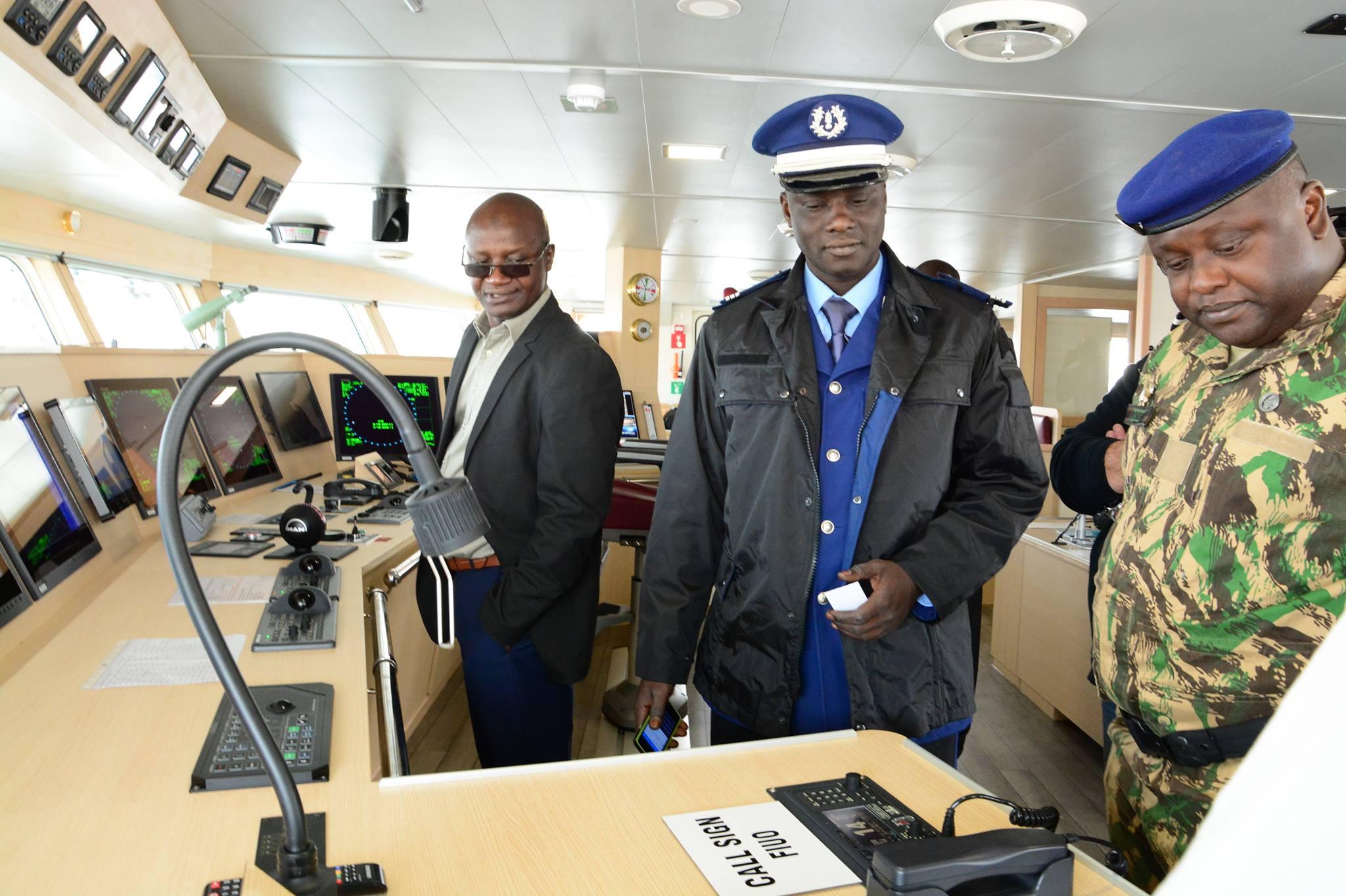 Visite à bord du Gevred : Rassurer les autorités sur une pratique responsable de la pêche thonière