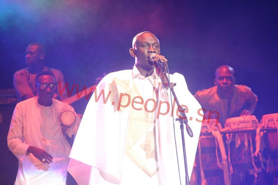 """Grande nuit culturelle des """"Laobé""""  : Pape Diouf a fait vibrer la salle du Grand Théâtre National"""
