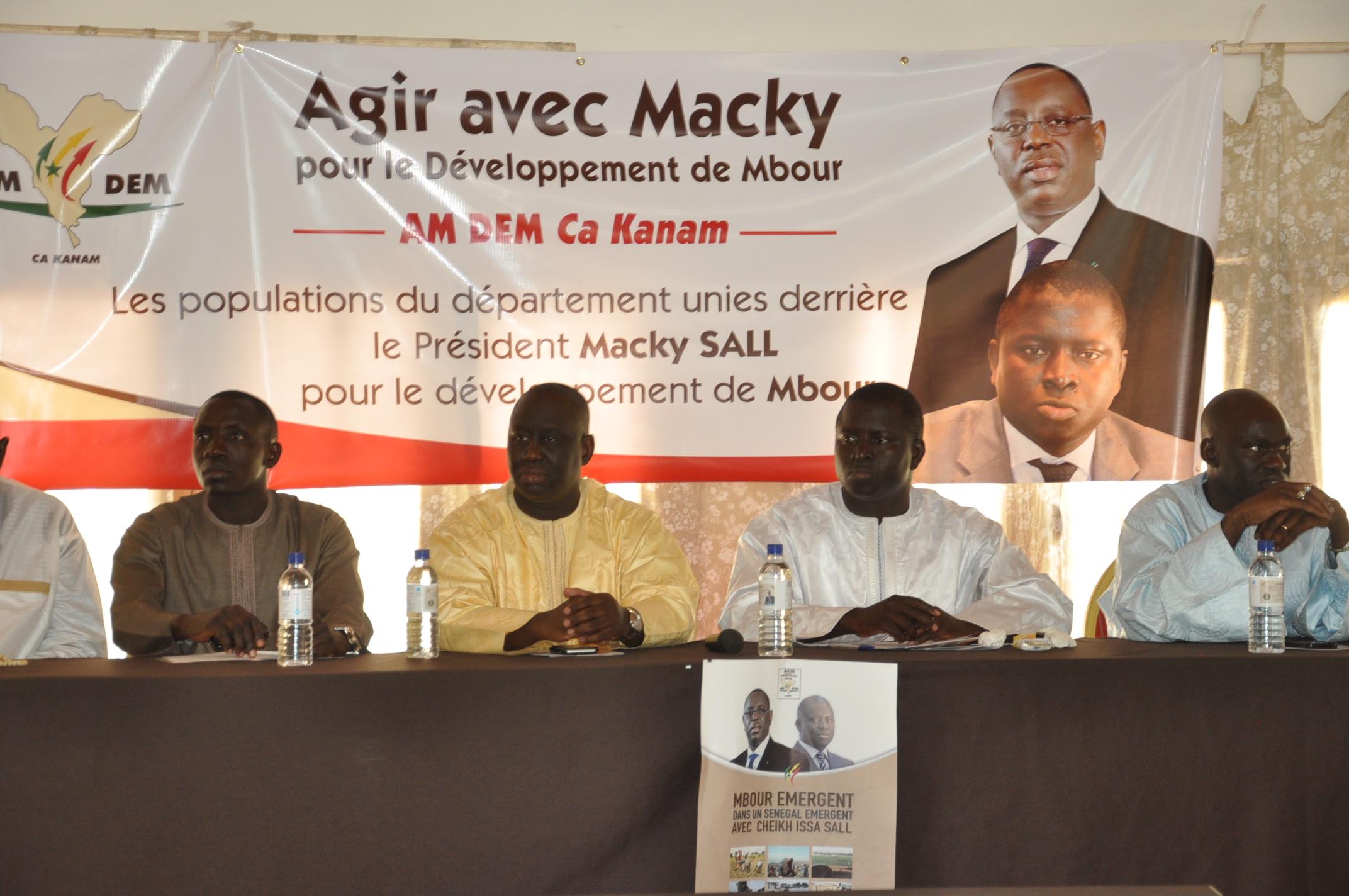 MBOUR : Lancement des activités de « AM DEM Ca Kanam »
