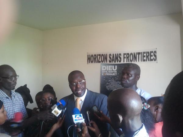 HSF fustige la libération du meurtrier de Cheikh Tidiane Diol et charge la diplomatie sénégalaise