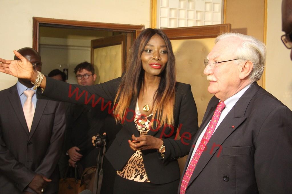 Les images du lancement de la radio Fem FM de la diva Coumba Gawlo