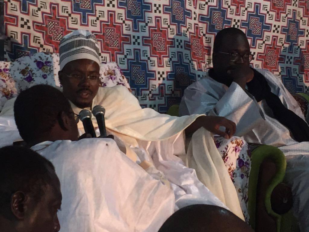 Visite de Serigne Bass Abdou Khadre à Nouakchott (Photos)