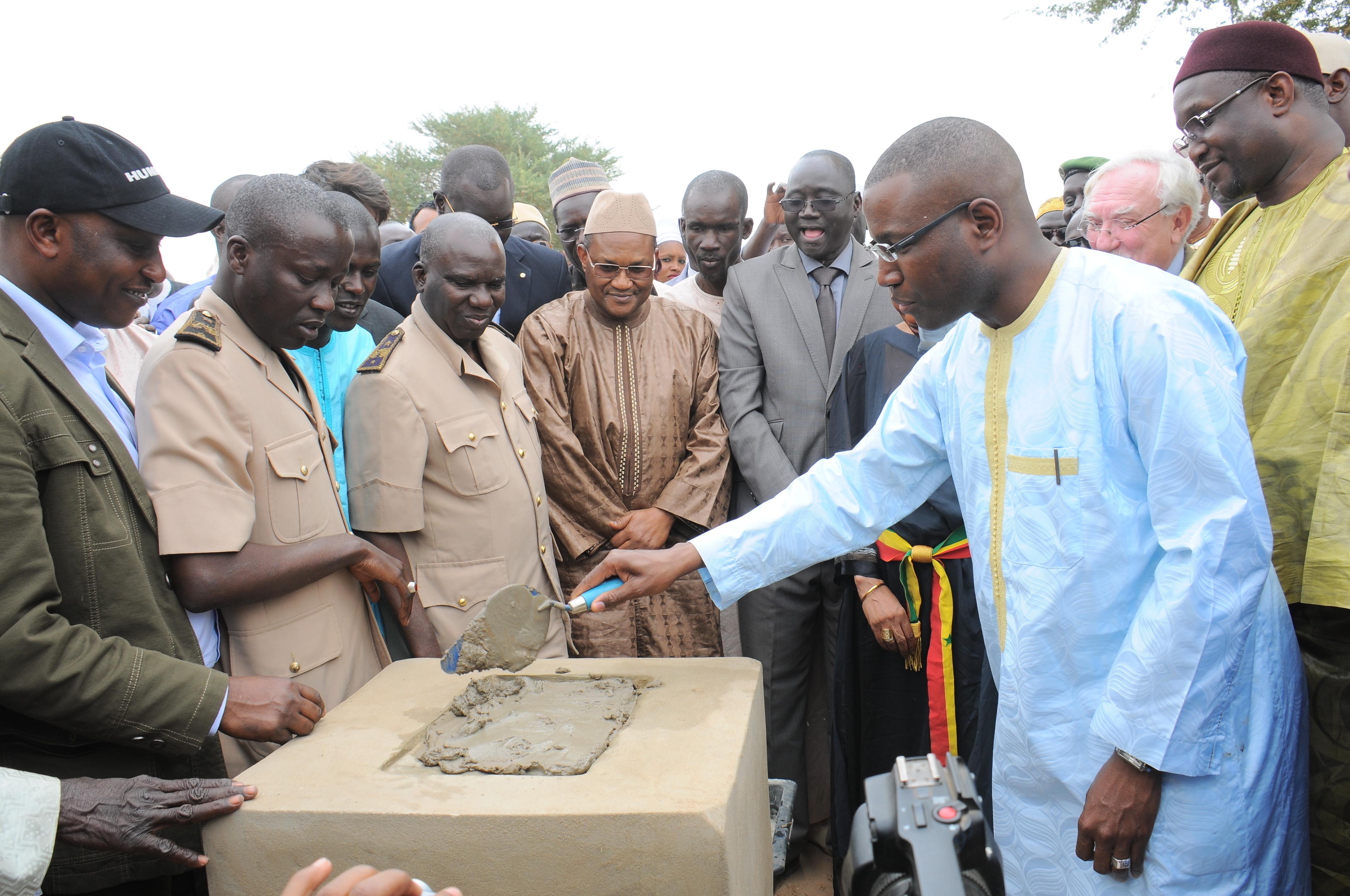 Santhiou Mékhé : Lancement des travaux de construction de la plus grande centrale solaire au Sénégal