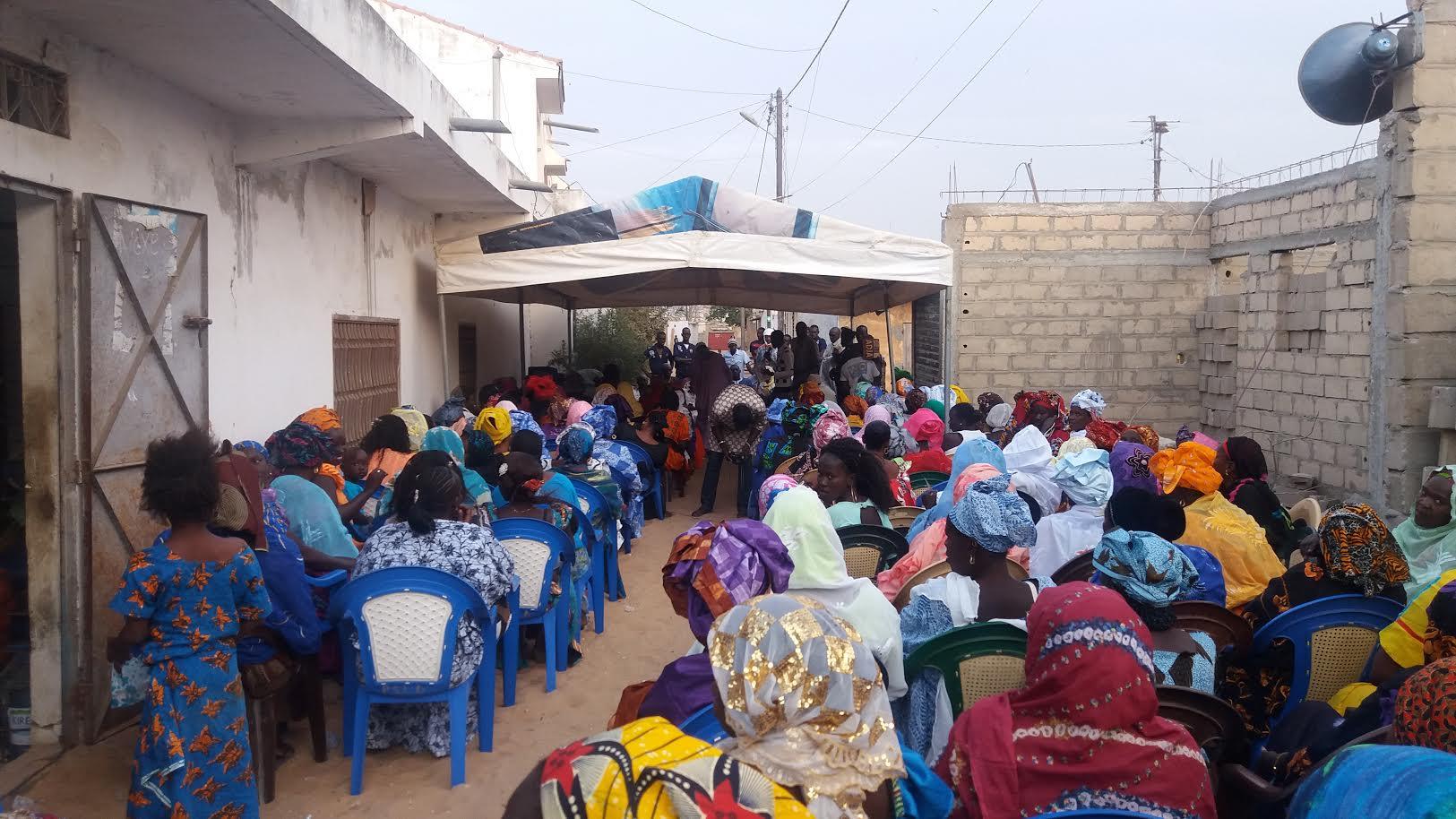 Pape Maël Diop rencontre 16 mouvements de femmes de Yeumbeul