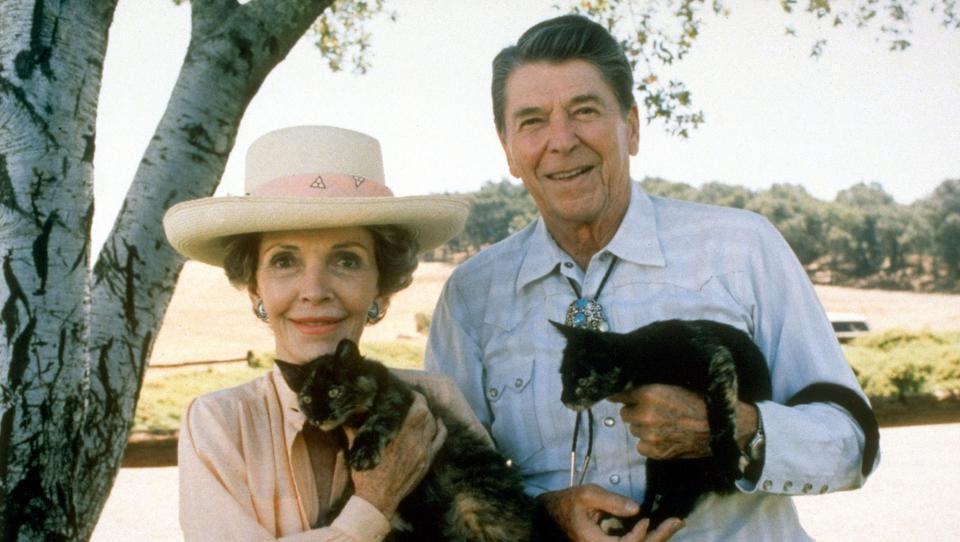 Décès de Nancy Reagan