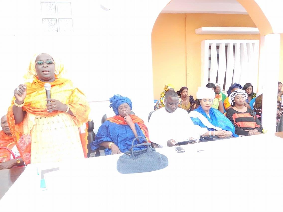 Célébration de la Journée mondiale de la femme : Les femmes du parti Rewmi sonnent la mobilisation pour un vote massif du NON  ( IMAGES )