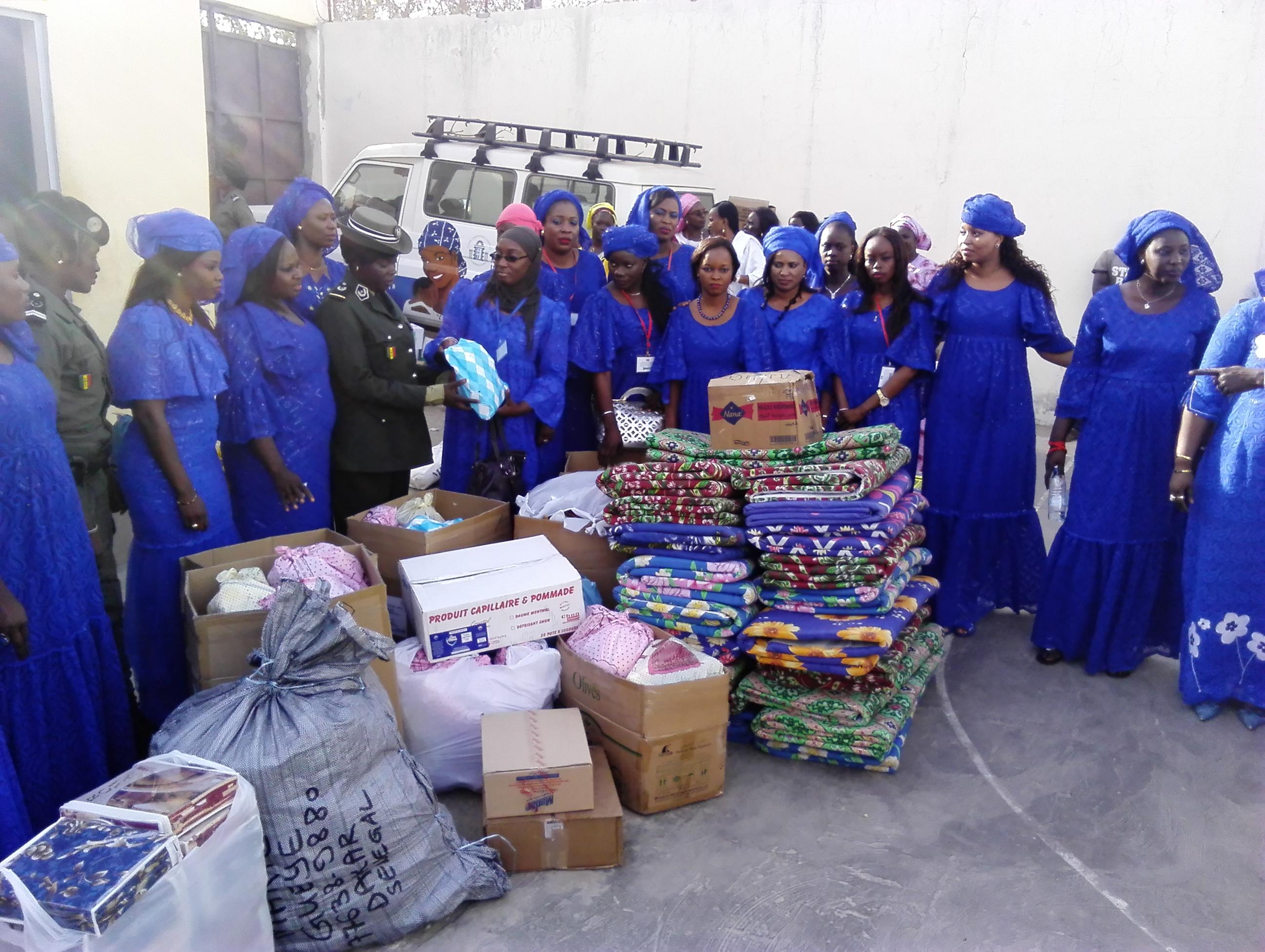 8 Mars : Des dons d'une valeur de 2 millions offert à la MAF de liberté 6