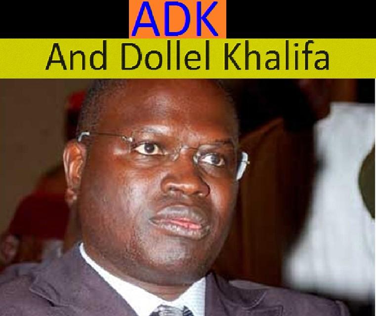 """Incident au siège du PS : """" Non à la manipulation de l'information """" (Mouvement (ADK) And Dollel Khalifa Sall)"""
