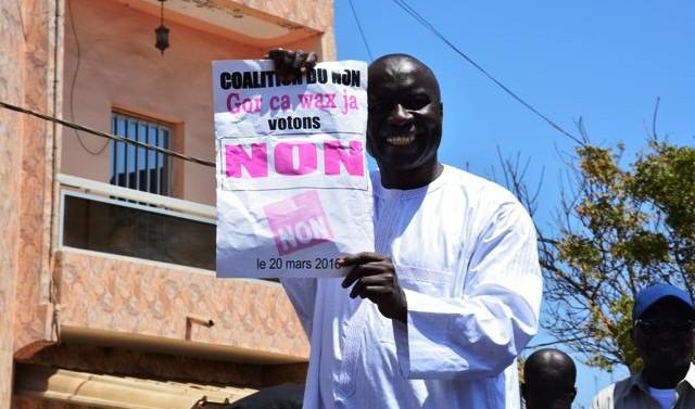 Idrissa Seck dans son fief de la Cité du rail : «Thiès est prêt à voter non»