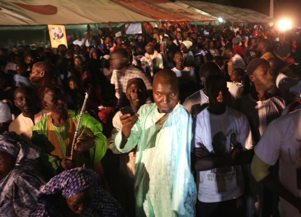 Les images du meeting de Macky Sall à M'backé