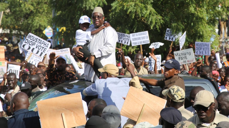 Tournée de Macky Sall à Louga et dans les localités de N'gaye Mékhé, Sagatta et Guéoul