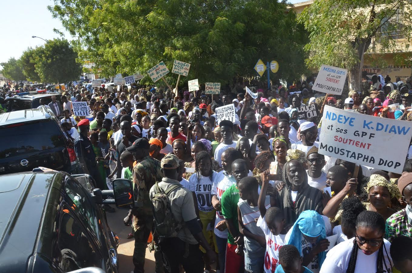 LOUGA / Le président Macky Sall exhorte les responsables locaux de l'Apr à l'unité