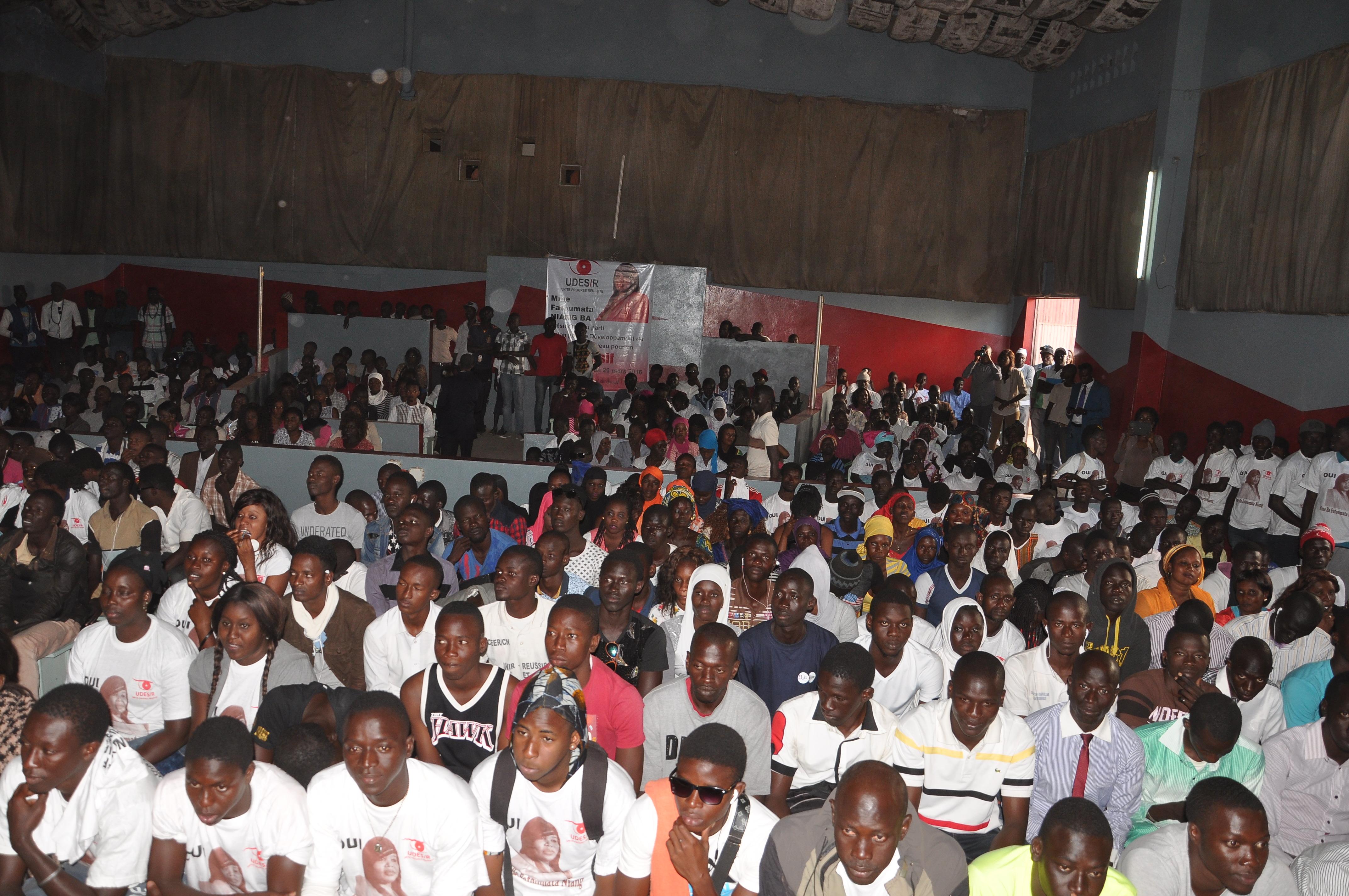 """Fatoumata Ba, présidente de l'Udes/R : """" Khalifa Sall se bat pour embellir Dakar-Plateau, alors que Grand-Yoff est dans l'insalubrité """""""