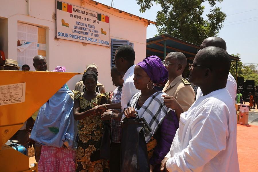 SEDHIOU : Le PRODAC allège les travaux des femmes