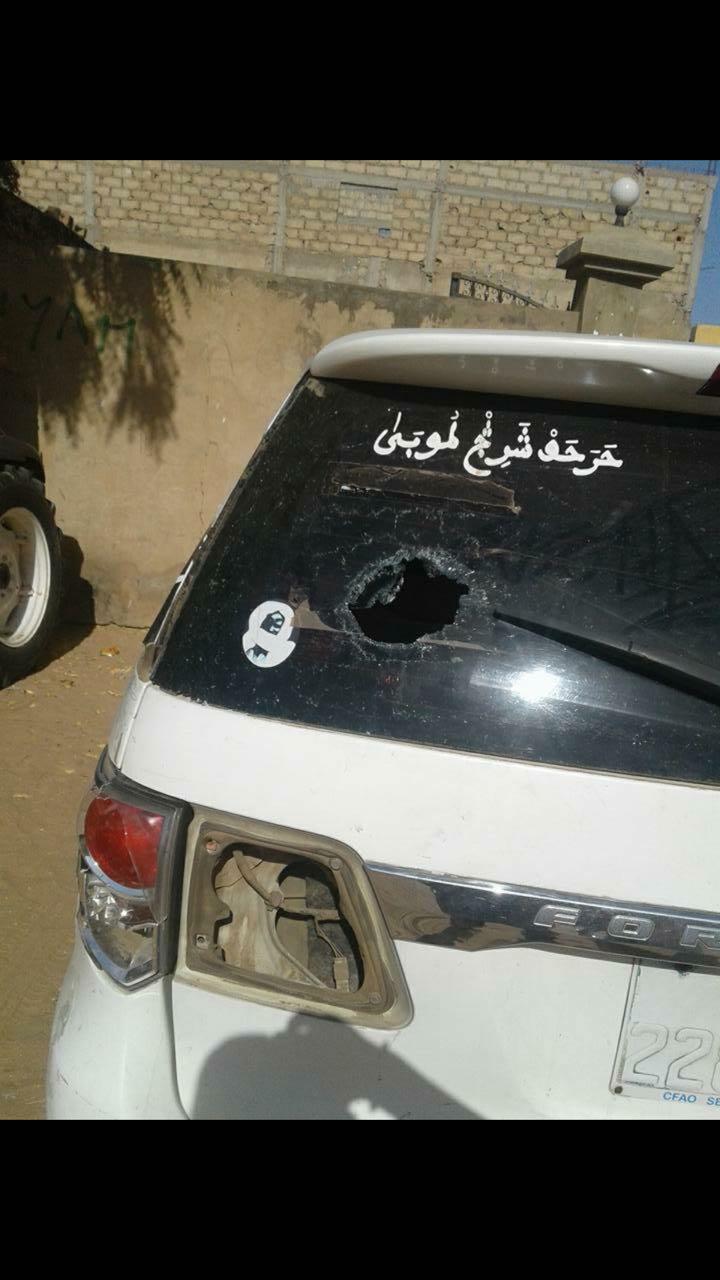 DERNIÈRE MINUTE/TOUBA : Sa voiture caillassée, Cissé Lo dégaine son pistolet et tire...