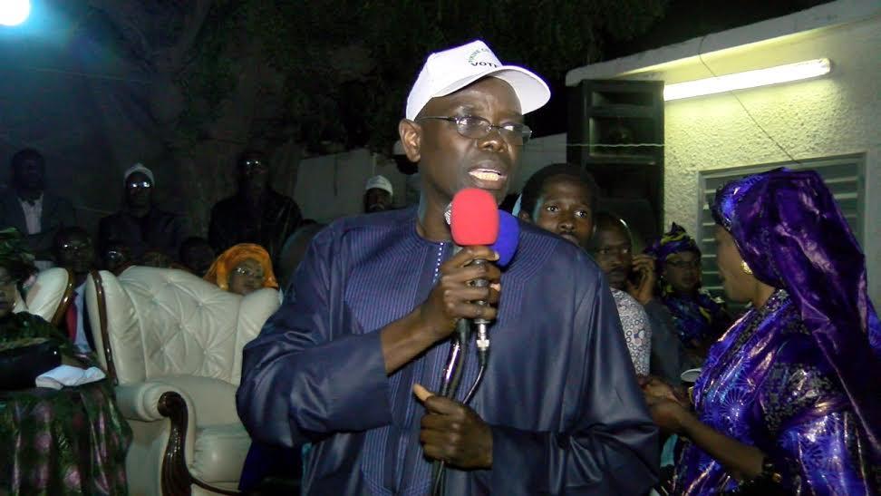 Meeting de Pikine Ci La Bokk : Thierno Bâ ouvre le boulevard pour le triomphe du Oui à Pikine