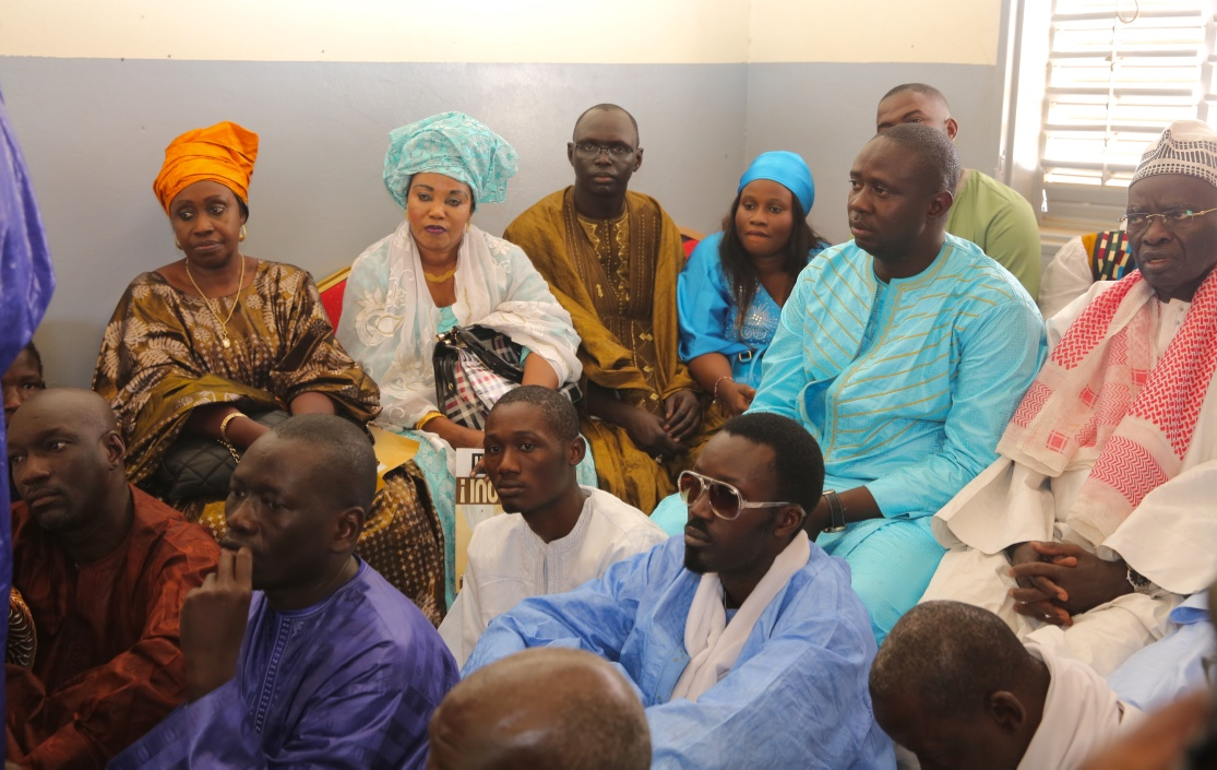 Visites de Macky Sall à Kanène, Léona Niassène et Touba N'dorong (Images)