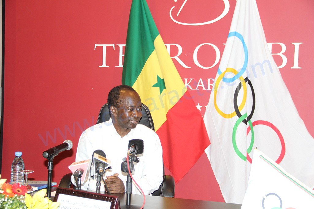 34ème session de la confédération Africaine de Tennis (CAT) : Diagna N'diaye nommé à l'unanimité Président d'honneur à vie de la CAT