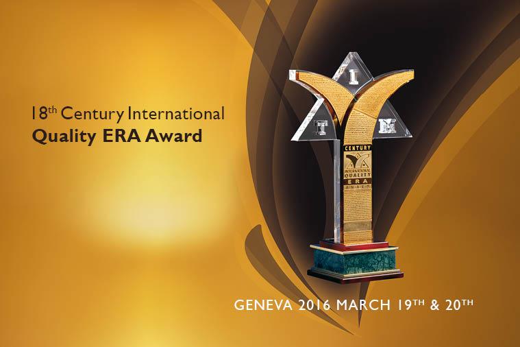 Qualité, Expertise et Innovation : Delgas Assainissement de Gana N'GOM, lauréat du Prix Century International Quality ERA