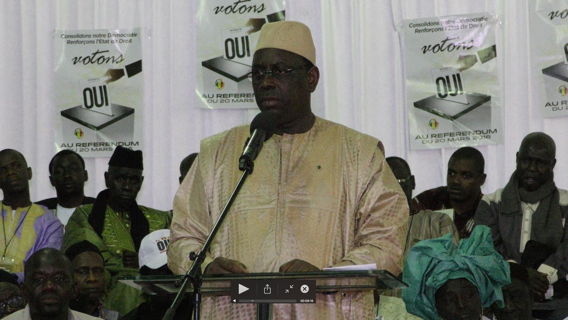 Macky Sall à Guédiawaye : Un conseil ministériel de 4 jours dans la banlieue et une réévaluation des indemnités des délégués de quartier