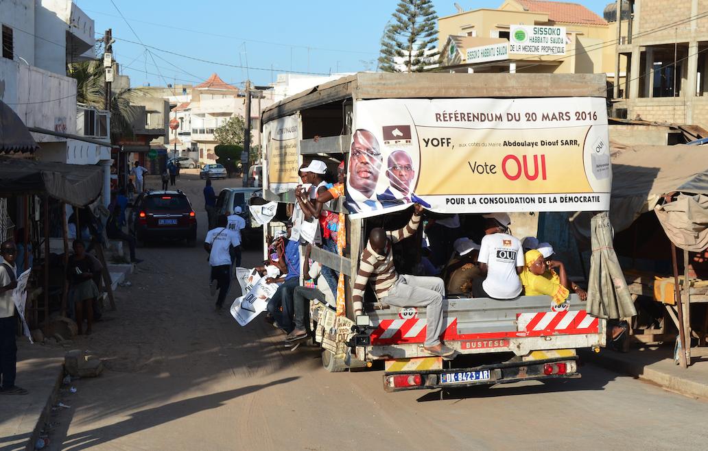 Abdoulaye Diouf Sarr, en phase avec les Yoffois pour le triomphe du OUI